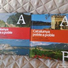 Libros: CATALUNYA POBLE A POBLE DOS VOLÚMENES 1 Y 2. Lote 275736103