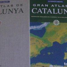 Libros: GRAN ATLAS DE CATALUNYA . LA VANGUARDIA / GENERALITAT D CATALUNYA. Lote 276223223