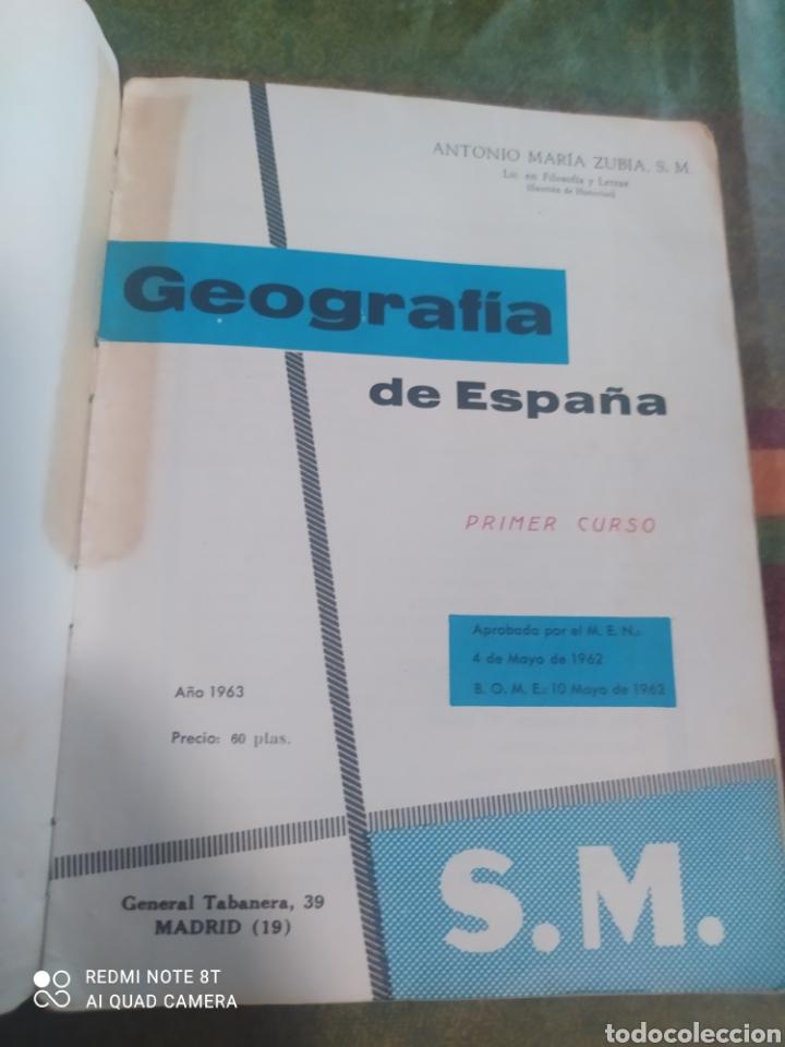 Libros: GEOGRAFÍA DE ESPAÑA 1 S.M. - Foto 4 - 277681228