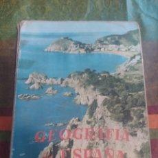 Libros: GEOGRAFÍA DE ESPAÑA 1' S.M.. Lote 277681228