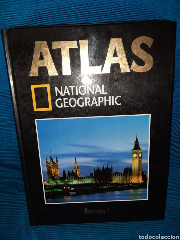 Libros: ATLAS NATIONAL GEOGRAFIC EUROPA 3 TOMOS - Foto 2 - 283346218