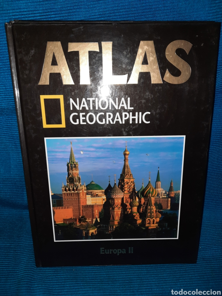 Libros: ATLAS NATIONAL GEOGRAFIC EUROPA 3 TOMOS - Foto 3 - 283346218