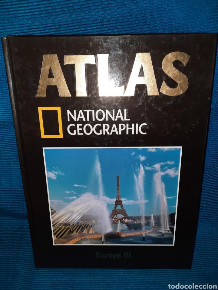 Libros: ATLAS NATIONAL GEOGRAFIC EUROPA 3 TOMOS - Foto 4 - 283346218