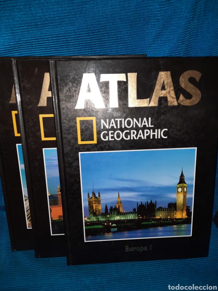 ATLAS NATIONAL GEOGRAFIC EUROPA 3 TOMOS (Libros Nuevos - Humanidades - Geografía)