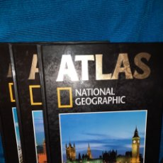 Libros: ATLAS NATIONAL GEOGRAFIC EUROPA 3 TOMOS. Lote 283346218