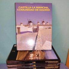 Libros: COLECCION COMPLETA NUESTROS PUEBLOS COMUNIDADES DE ESPAÑA 10 TOMOS A ESTRENAR. Lote 295294998