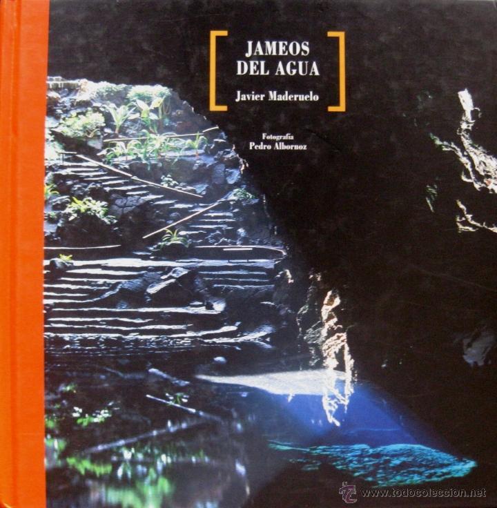 'JAMEOS DEL AGUA' (2006), POR J. MADERUELO; FOTOS: PEDRO ALBORNOZ, IMPECABLE, AGOTADO, DESCATALOGAD (Libros Nuevos - Ciencias, Manuales y Oficios - Geología)