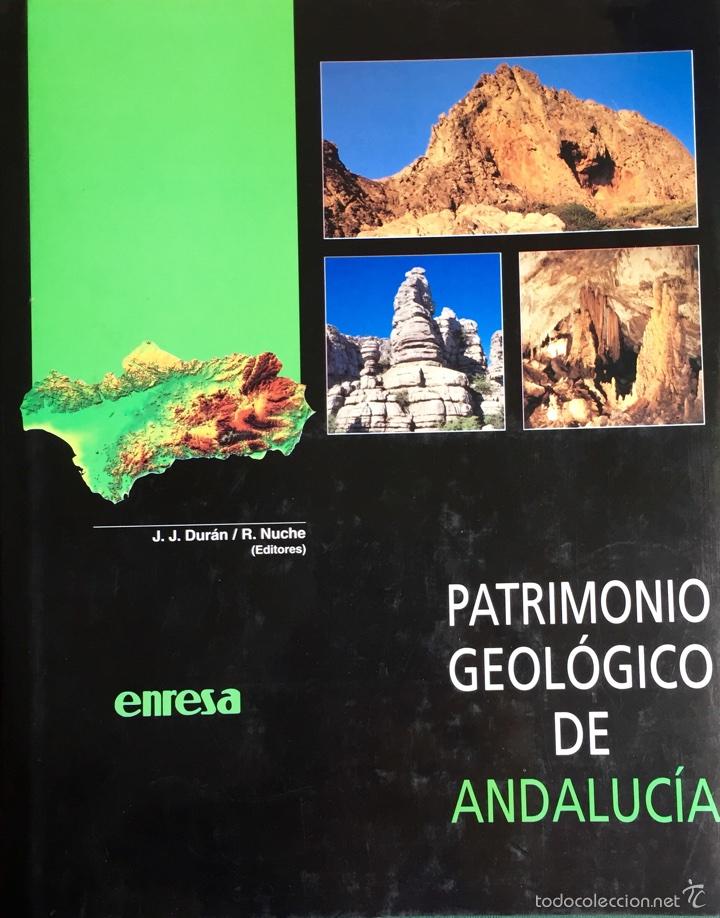 TÍTULO: PATRIMONIO GEOLÓGICO DE ANDALUCÍA (Libros Nuevos - Ciencias, Manuales y Oficios - Geología)