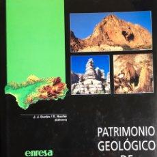 Livros: TÍTULO: PATRIMONIO GEOLÓGICO DE ANDALUCÍA. Lote 58071119