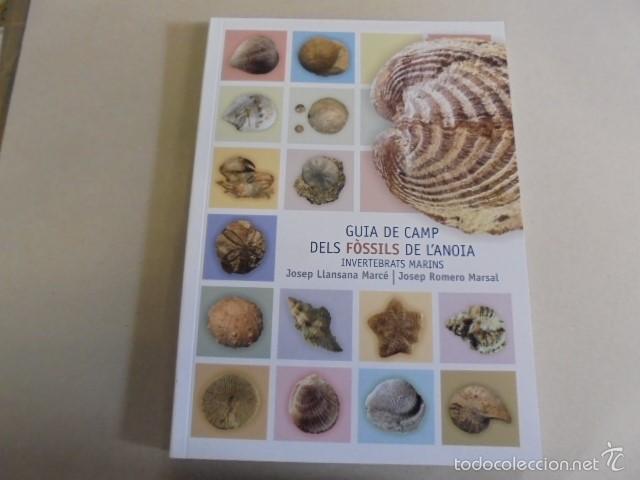 GUIA DE CAMP DELS FOSSILS DE L´ANOIA - INVERTEBRATS MARINS / ROMERO - LLANSANA (Libros Nuevos - Ciencias, Manuales y Oficios - Geología)