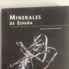Libros: MINERALES DE ESPAÑA, PREMIO AL LIBRO MEJOR EDITADO, EDITORIAL CARROGGIO. Lote 213513208