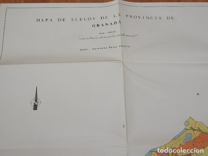 Libros: MEMORIA Y MAPAS DE SUELOS Y VEGETACION DE LA PROVINCIA DE GRANADA (INCLUYE SIERRA NEVADA), 1980 - Foto 5 - 218481367