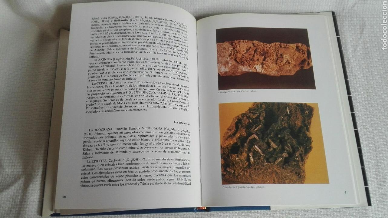 Libros: Minerales y rocas de Asturias - Foto 3 - 185756162