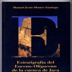 Libros: MONTES SANTIAGO, MANUEL JESÚS. ESTRATIGRAFÍA DEL EOCENO-OLIGOCENO DE LA CUENCA DE JACA. 2009.. Lote 109533871