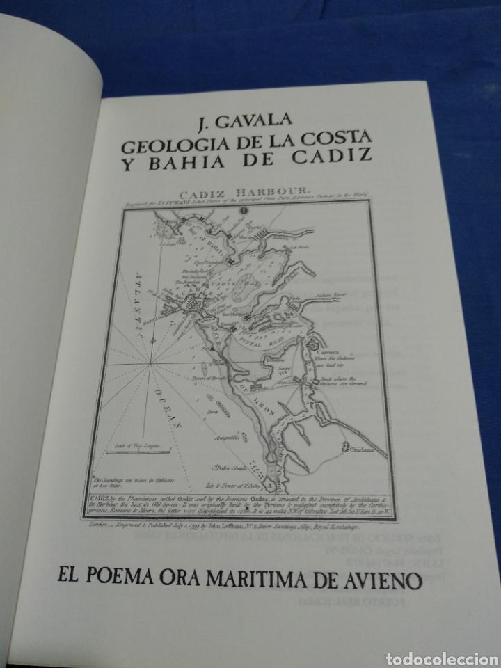 Libros: GEOLOGIA DE LA COSTA Y BAHIA DE CADIZ EL POEMA ORA MARITIMA DE AVIENO - Foto 3 - 174992310