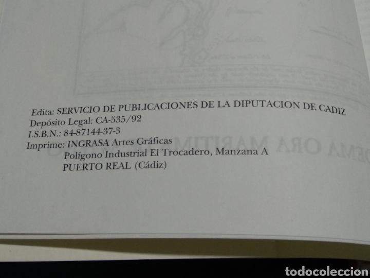 Libros: GEOLOGIA DE LA COSTA Y BAHIA DE CADIZ EL POEMA ORA MARITIMA DE AVIENO - Foto 4 - 174992310