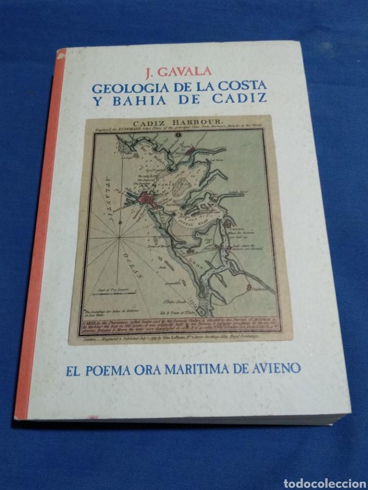 GEOLOGIA DE LA COSTA Y BAHIA DE CADIZ EL POEMA ORA MARITIMA DE AVIENO (Libros Nuevos - Ciencias, Manuales y Oficios - Geología)