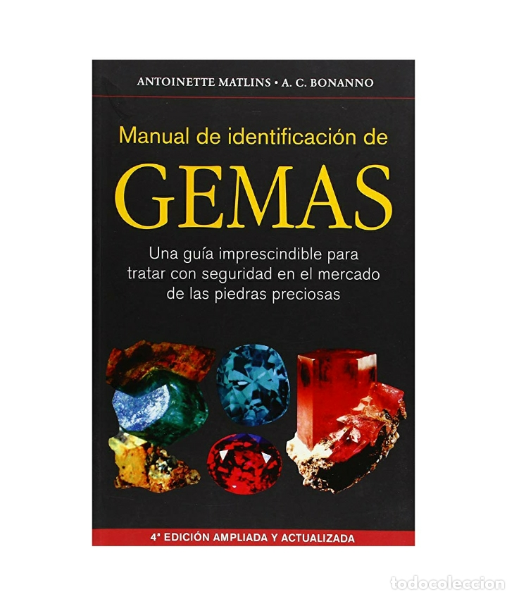 MANUAL DE IDENTIFICACIÓN DE GEMAS (Libros Nuevos - Ciencias, Manuales y Oficios - Geología)