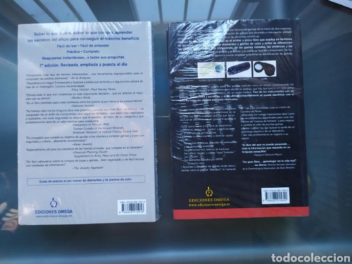 Libros: Pack 2 libros JOYAS Y GEMAS y MANUAL IDENTIFICACIÓN GEMAS - Foto 2 - 190228008