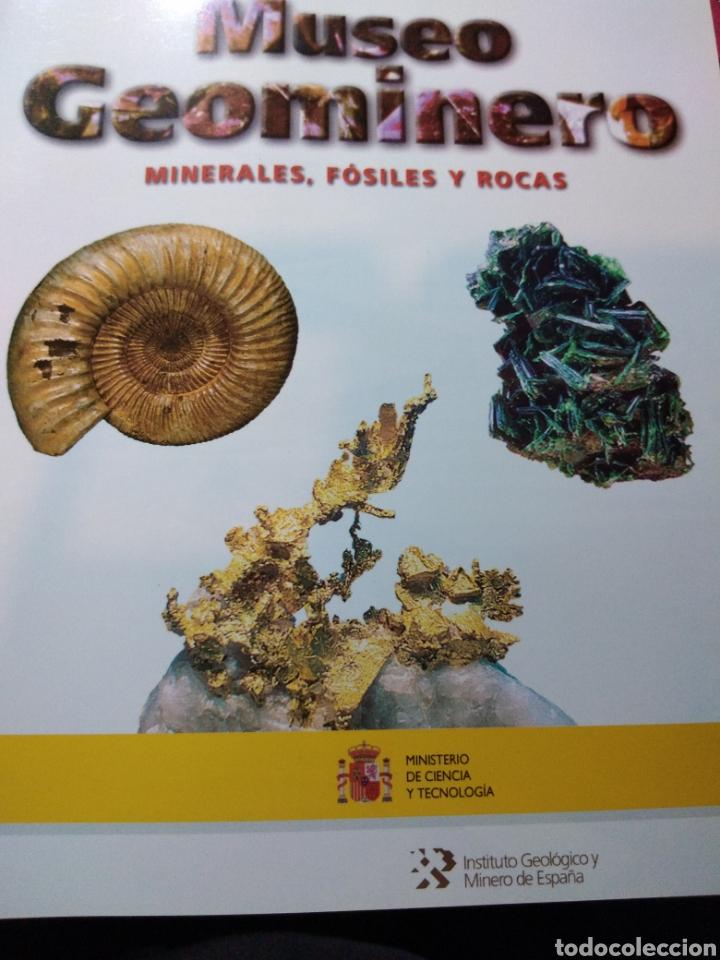 GUÍA DEL MUSEO GEOMINERO. PALEONTOLOGIA Y MINERALOGÍA. (Libros Nuevos - Ciencias, Manuales y Oficios - Geología)