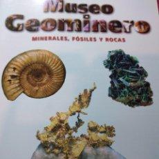 Libros: GUÍA DEL MUSEO GEOMINERO. PALEONTOLOGIA Y MINERALOGÍA.. Lote 201533831