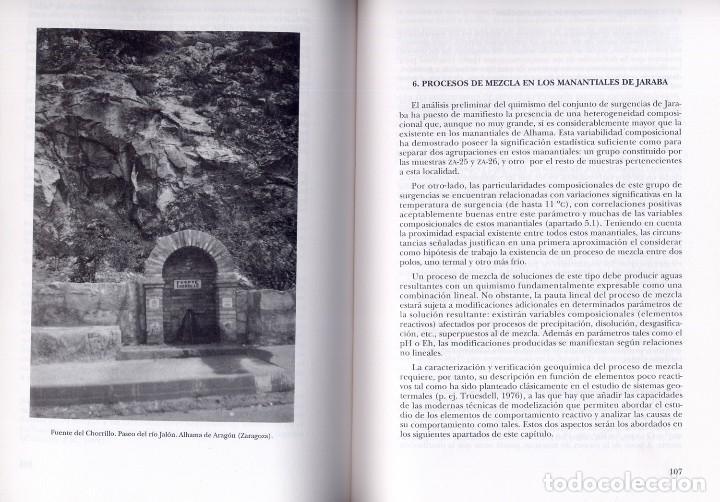Libros: LEIVA (C.). Evolución Fisicoquímica y Geotermometría del Sistema Hidrotermal de Alhama-Jaraba. 1995 - Foto 2 - 206154482