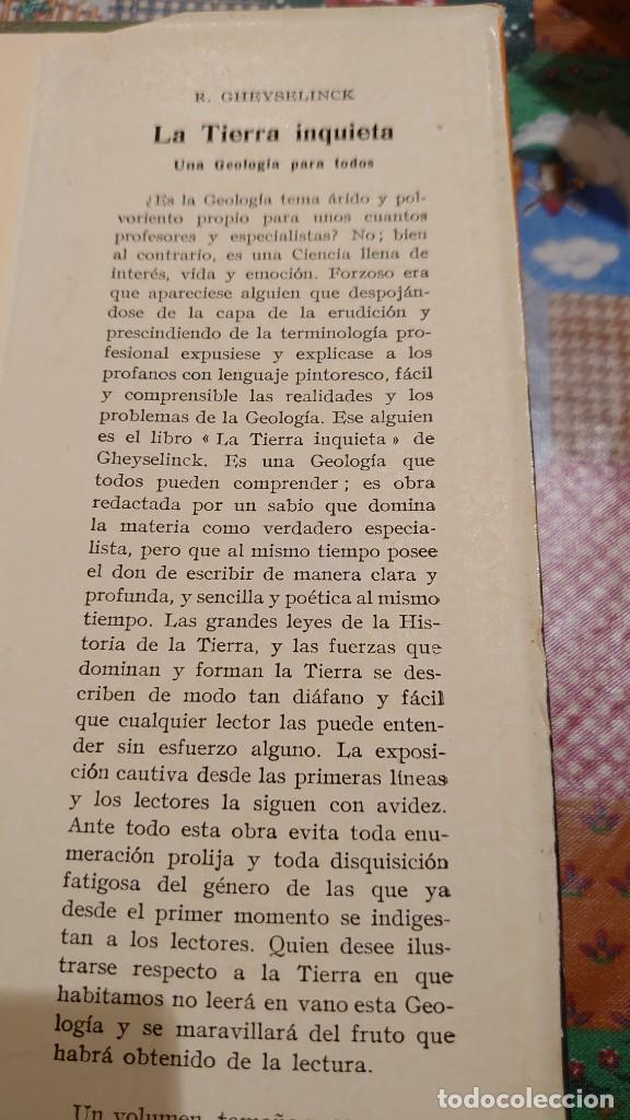 Libros: DIÁLOGO CON LA TIERRA HANS CLOOS prpm - Foto 3 - 207239501