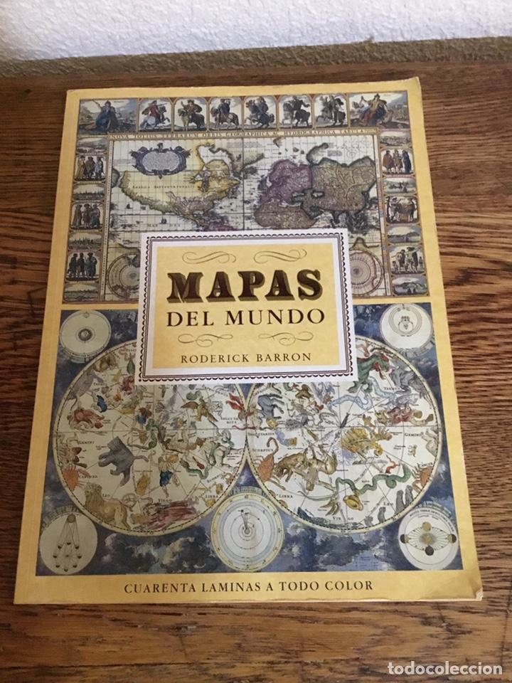 MAPAS DEL MUNDO-RODERICK BARRON- 1989 (Libros Nuevos - Ciencias, Manuales y Oficios - Geología)