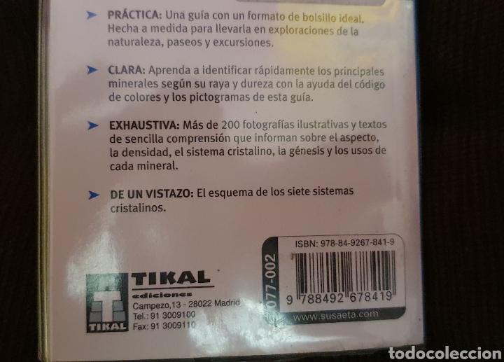 Libros: MINIGUIA DE BOLSILLO MINERALES TIKAL EN EXCELENTE ESTADO - Foto 6 - 211558731