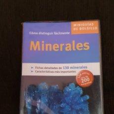Libros: MINIGUIA DE BOLSILLO MINERALES TIKAL EN EXCELENTE ESTADO. Lote 211558731