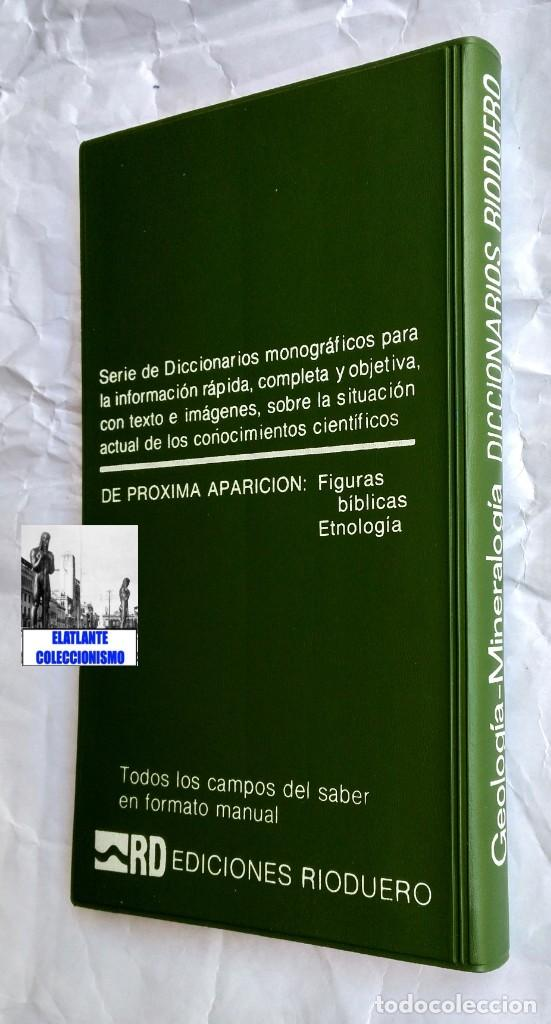 Libros: GEOLOGIA Y MINERALOGIA - DICCIONARIOS RIODUERO - JOSÉ SAGREDO - 1985 - NUEVO DE DISTRIBUIDOR - 9 € - Foto 6 - 247631835