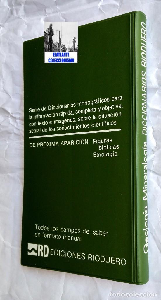 Libros: GEOLOGIA Y MINERALOGIA - DICCIONARIOS RIODUERO - JOSÉ SAGREDO - 1985 - NUEVO DE DISTRIBUIDOR - 9 € - Foto 7 - 247631835