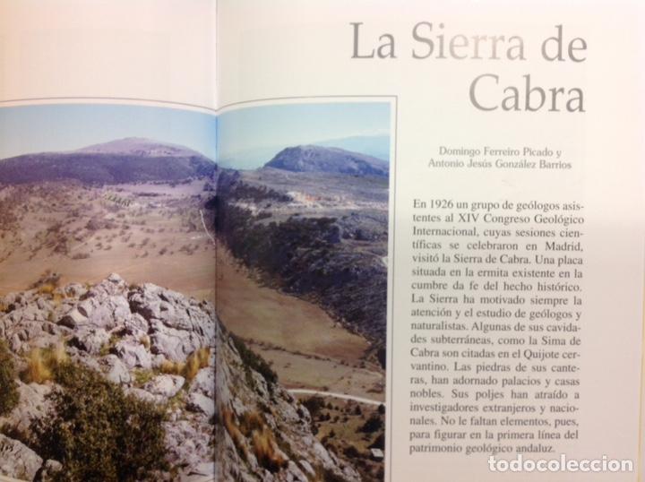 Libros: Patrimonio geológico de Andalucía. Enresa. 1999. 31x25x3 cm. Nuevo, impecable. - Foto 2 - 251434660