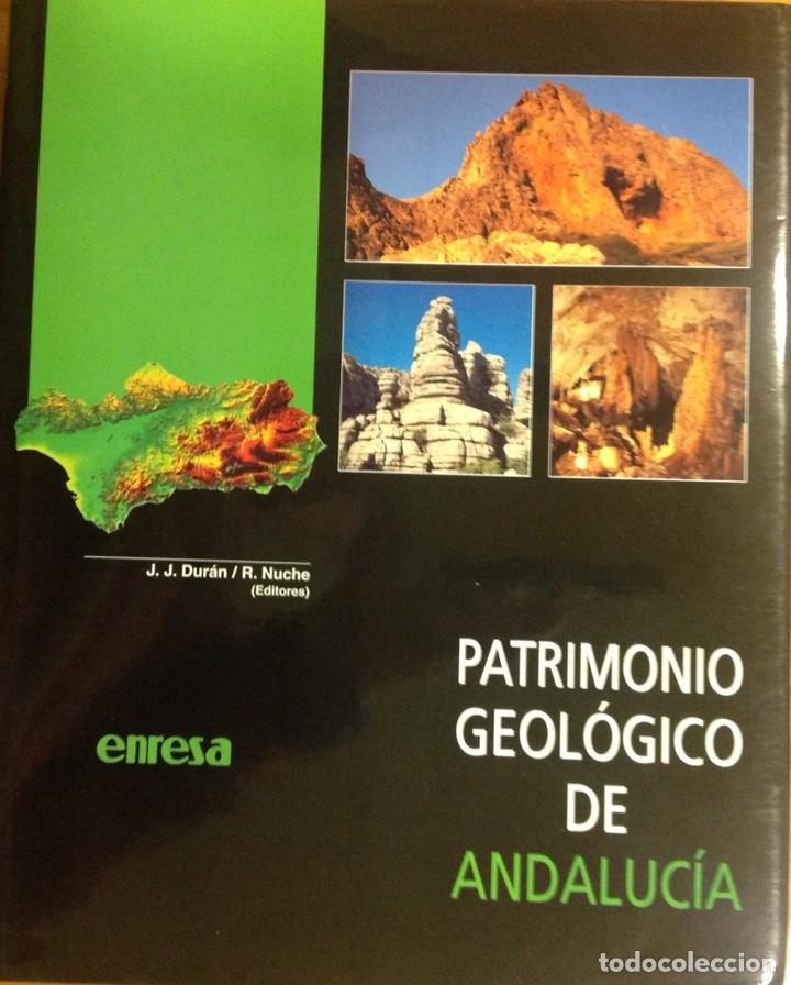 PATRIMONIO GEOLÓGICO DE ANDALUCÍA. ENRESA. 1999. 31X25X3 CM. NUEVO, IMPECABLE. (Libros Nuevos - Ciencias, Manuales y Oficios - Geología)