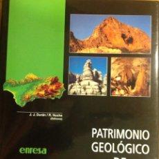 Libros: PATRIMONIO GEOLÓGICO DE ANDALUCÍA. ENRESA. 1999. 31X25X3 CM. NUEVO, IMPECABLE.. Lote 251434660