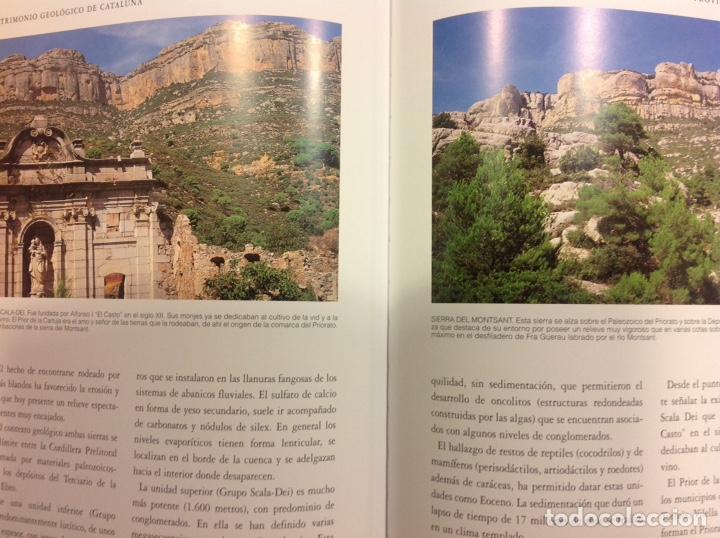 Libros: Patrimonio geológico de Cataluña. Enresa. 2000. 31x25x3 cm. Nuevo, impecable. - Foto 3 - 251435900