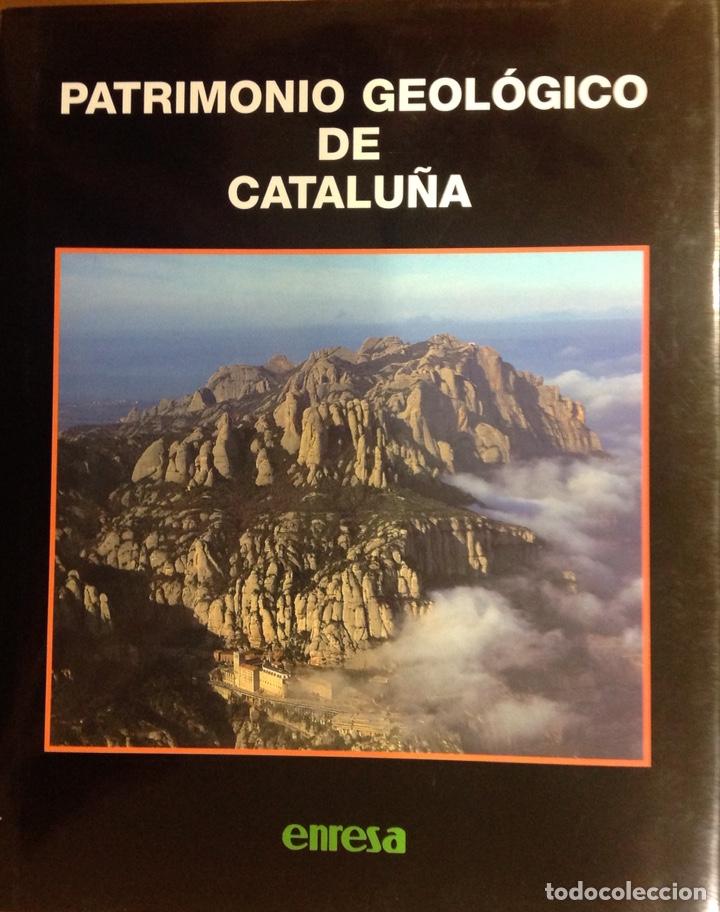 PATRIMONIO GEOLÓGICO DE CATALUÑA. ENRESA. 2000. 31X25X3 CM. NUEVO, IMPECABLE. (Libros Nuevos - Ciencias, Manuales y Oficios - Geología)