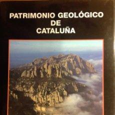 Libros: PATRIMONIO GEOLÓGICO DE CATALUÑA. ENRESA. 2000. 31X25X3 CM. NUEVO, IMPECABLE.. Lote 251435900