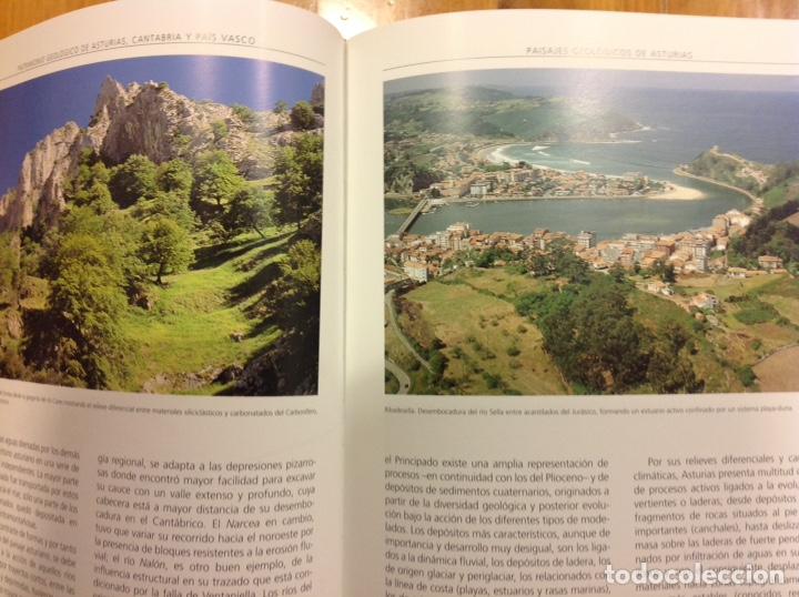 Libros: Patrimonio geológico de Asturias, Cantabria y País Vasco. Enresa. 2002. 31x25x5 cm. Nuevo, impecable - Foto 2 - 251436675