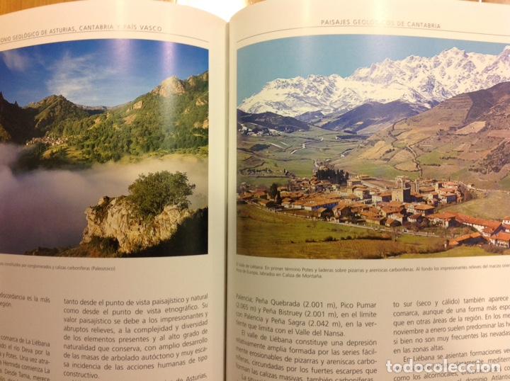 Libros: Patrimonio geológico de Asturias, Cantabria y País Vasco. Enresa. 2002. 31x25x5 cm. Nuevo, impecable - Foto 3 - 251436675