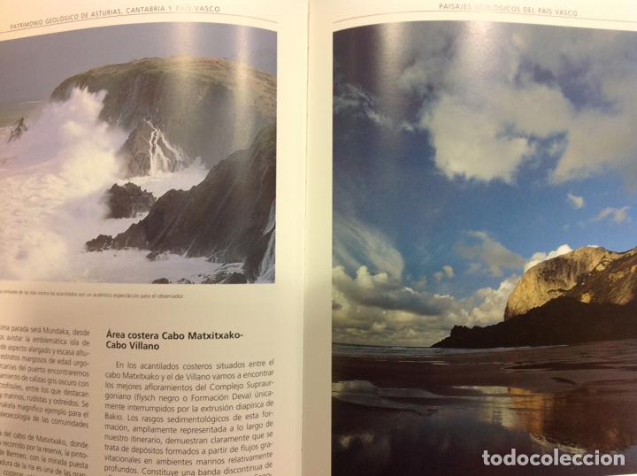 Libros: Patrimonio geológico de Asturias, Cantabria y País Vasco. Enresa. 2002. 31x25x5 cm. Nuevo, impecable - Foto 4 - 251436675