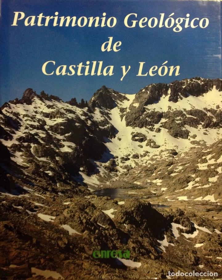 PATRIMONIO GEOLÓGICO DE CASTILLA Y LEÓN. ENRESA. 2003. 31X25X5 CM. NUEVO, IMPECABLE. (Libros Nuevos - Ciencias, Manuales y Oficios - Geología)