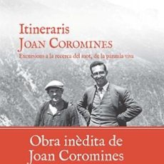 Libros: VIATGES. ITINERARIS - JOAN COROMINES (CARTONÉ). Lote 46130889