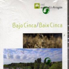 Libros: GUIA DE VIAJE RED NATURAL DE ARAGÓN BAJO CINCA CON MAPA ED. PRAMEX PRECINTADO. Lote 148665797
