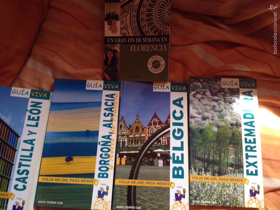 LOTE DE GUÍAS (Libros Nuevos - Ocio - Guía de Viajes)