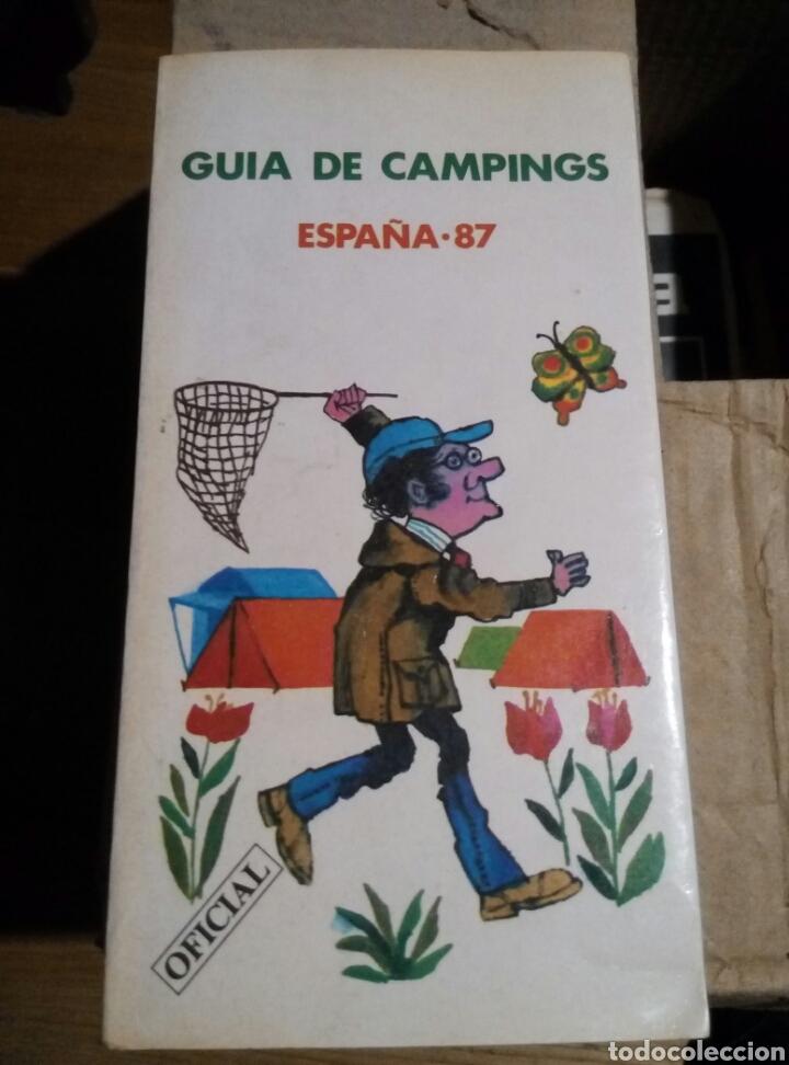 GUIA DE CAMPINGS. ESPAÑA 87 (Libros Nuevos - Ocio - Guía de Viajes)