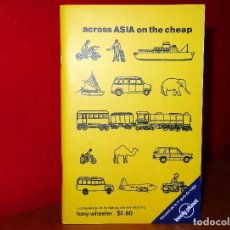 Libros: GUÍA ACROSS ASIA ON THE CHEAP LONELY PLANET. Lote 93044220