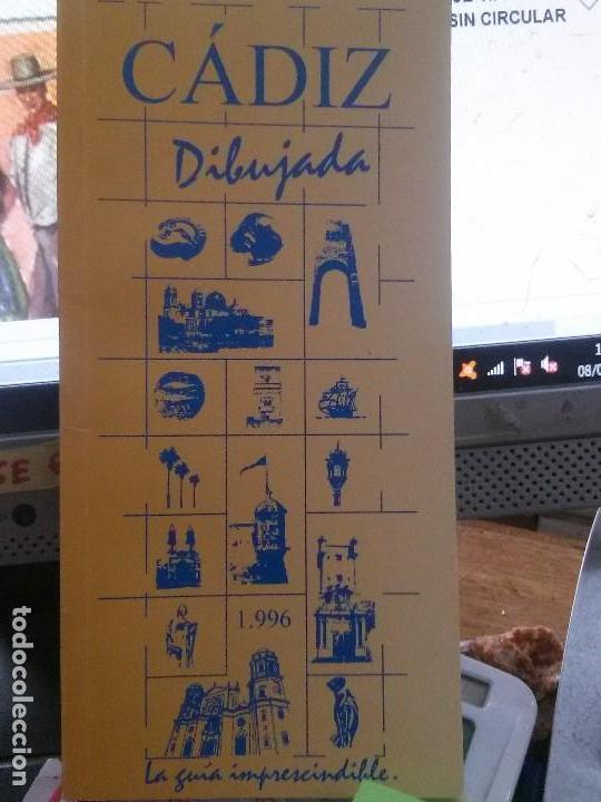 CADIZ DIBUJADA , LA GUIA IMPRESCINDIBLE 1996 (Libros Nuevos - Ocio - Guía de Viajes)