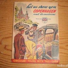Libros: GUIA COPENHAGEN 1950 EN INGLES. Lote 100751151