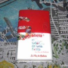 Libros: GALICIA - EL SABOR DE UNA FIESTA - LA VOZ DE GALICIA - GASTRONOMÍA - 2004. Lote 107005239